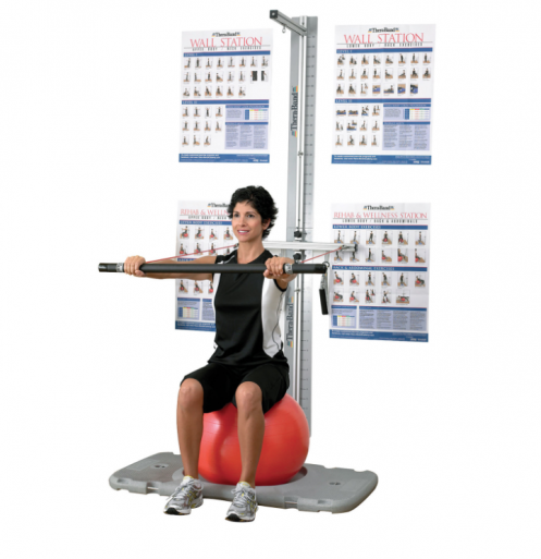 Тренувальна станція TheraBand Rehab and Wellness Station